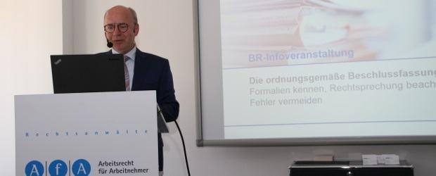 Ausgebuchte BR-Infoveranstaltung bei AfA Frankfurt