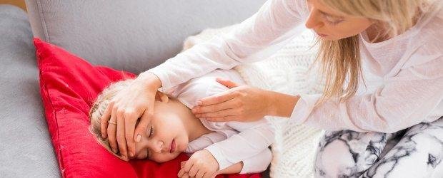 Freinehmen, wenn das Kind krank ist – Interview