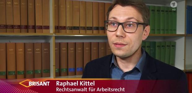 Krankfeiern und die Folgen – TV-Interview mit BRISANT