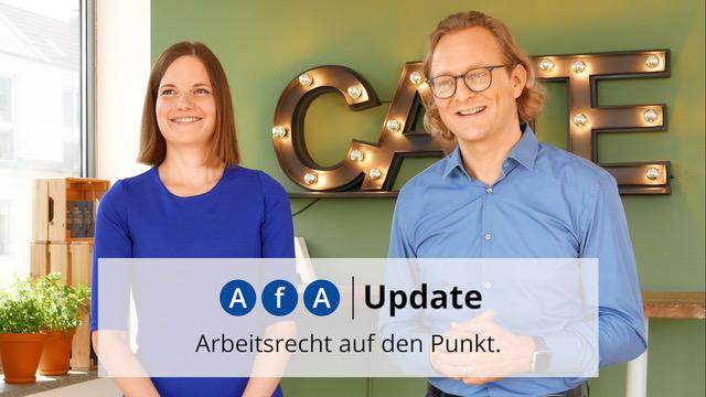 AfA Update – auf YouTube und als Podcast