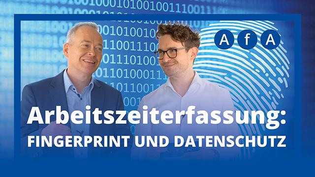 Arbeitszeiterfassung durch Fingerprint – Datenschutzexperte Dr. Stefan Brink im Interview