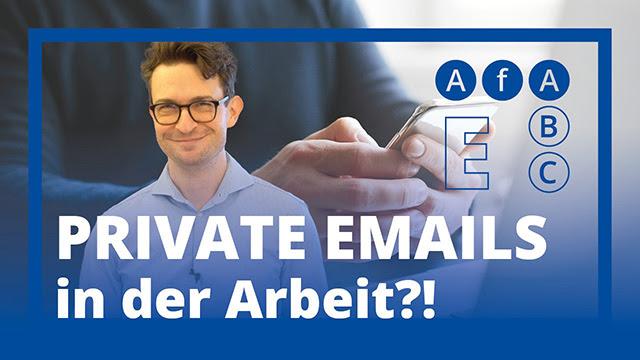 Private E-Mail-Nutzung im Arbeitsverhältnis