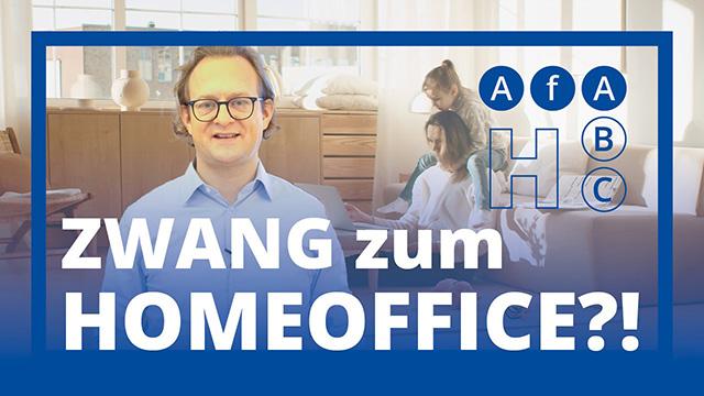 Zwang zum Home-Office?